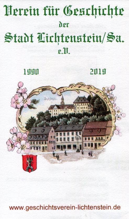 Die Geschichte der Stadt Lichtenstein